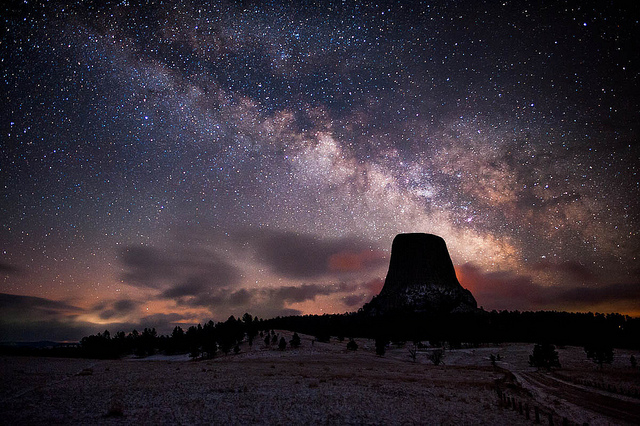 5 great places to go stargazing in wyoming wyoming magazine for Night fishing spots near me